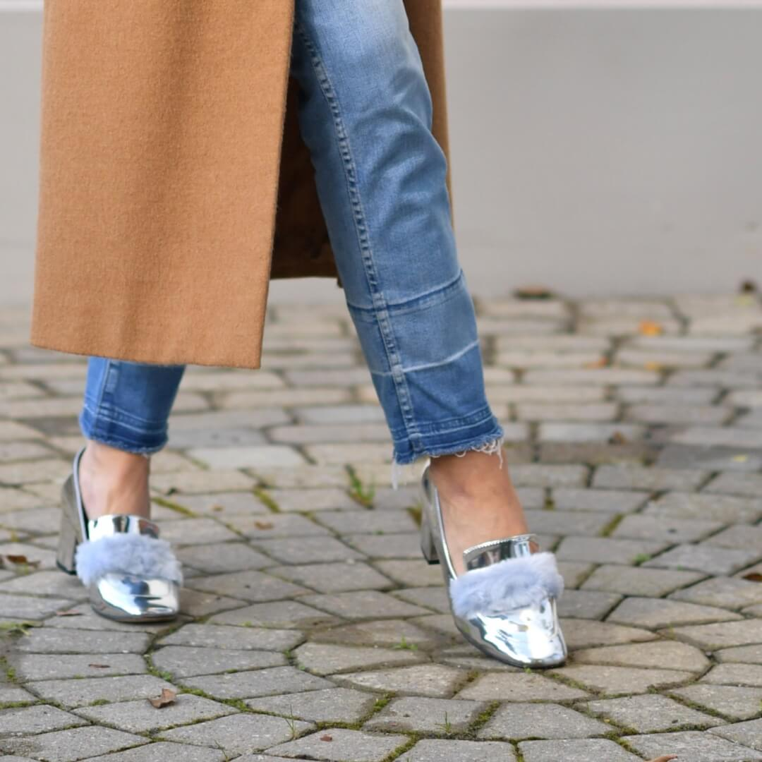 The Cool Way to Style Silver Shoes