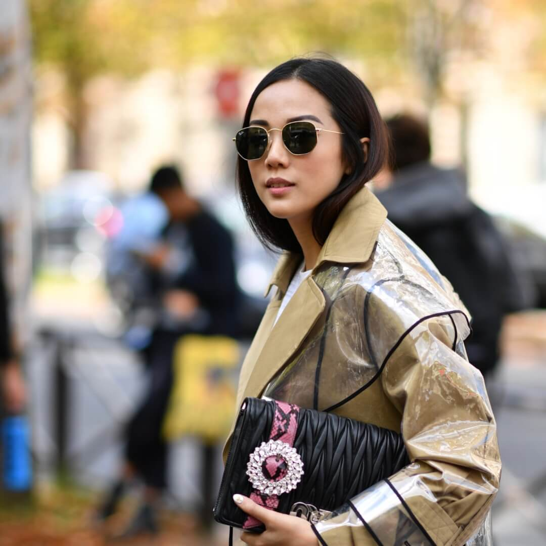 The One Glasses Trend that Dominated Fashion Week