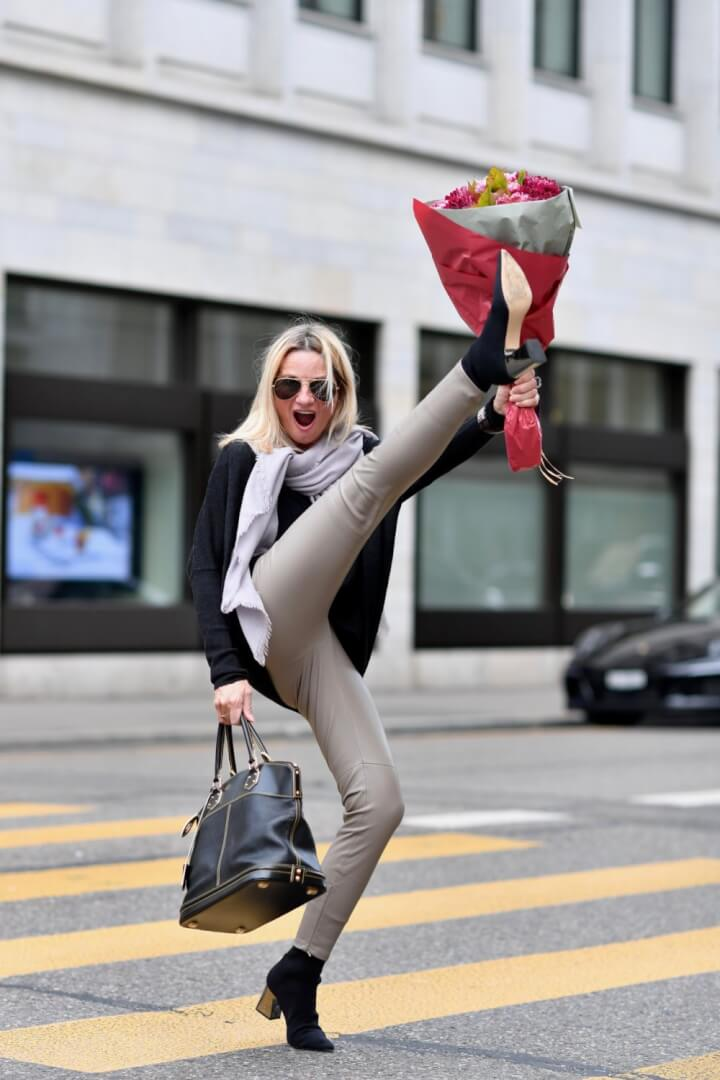 Booties and Sweaters: Ageless Style Linkup