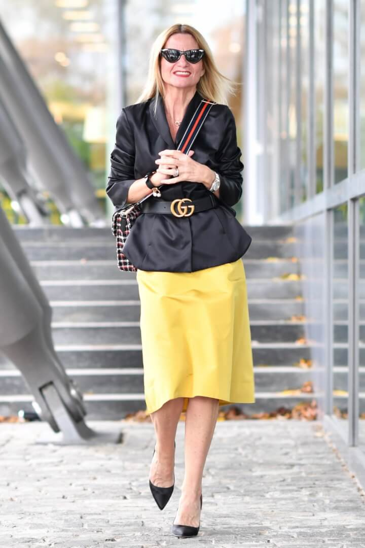 The Secret to Styling Yellow with Black