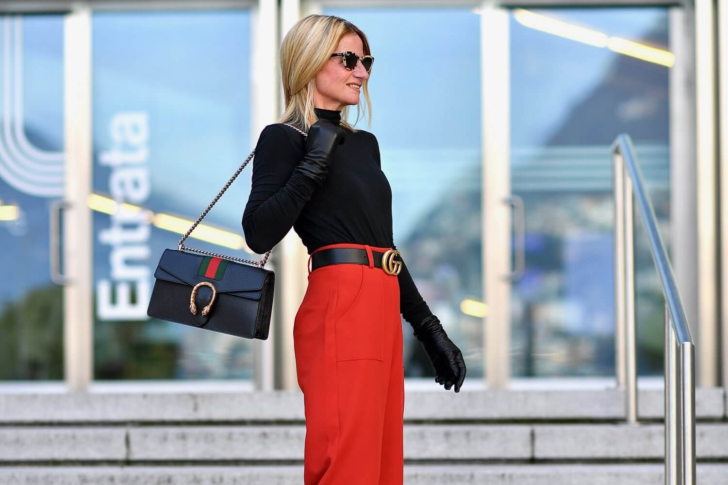 The Biggest Style Mistake to Make with High Waisted Trousers!