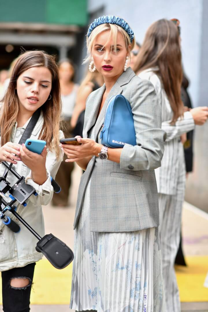 New York Fashion Week - My Day One Street Style Pictures & More