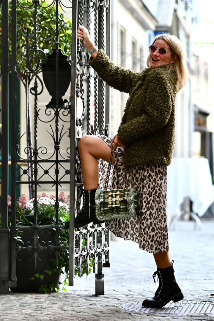 My Favourite Faux Fur Jacket Styling Tips