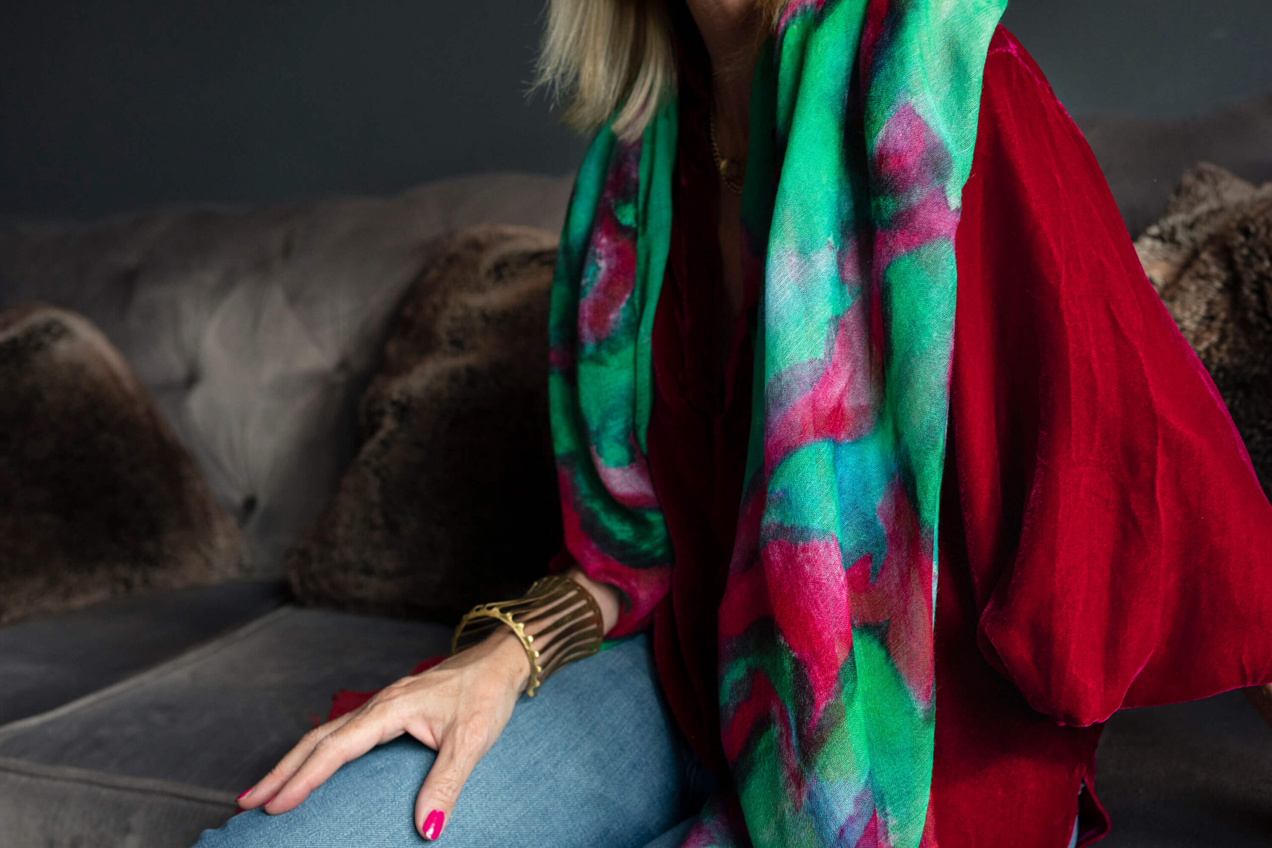 Styling Tips for this Fall's Must Have Velvet
